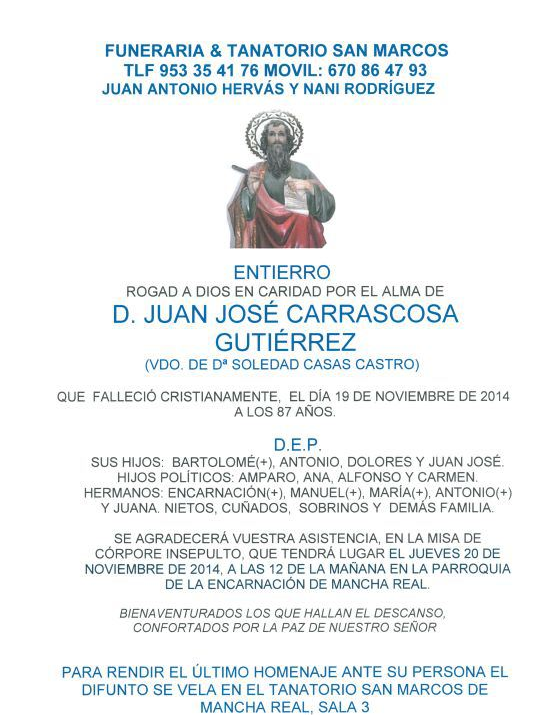 D. JUAN JOSÉ CARRASCOSA GUTIÉRREZ