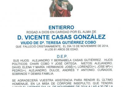 VICENTE CASAS GONZÁLEZ